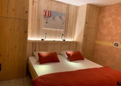 Chalet à proximité Chantemerle - Chambre Orée du bois