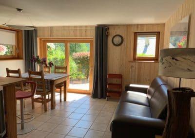 Appartement sur Chantemerle - Salon Orée du bois