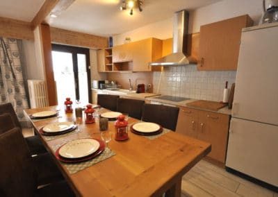 location appartement chantemerle cuisine